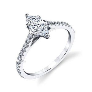 Jewelry - 3 ct Marquise and round gorgeous diamonds engageme